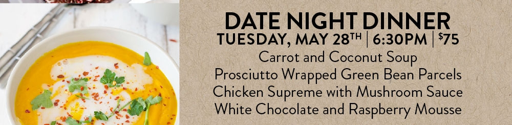 Date Night Dinner - SOLD OUT