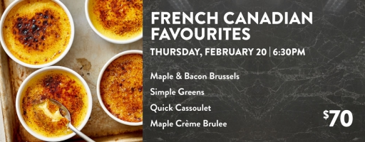 French Canadian Favourites