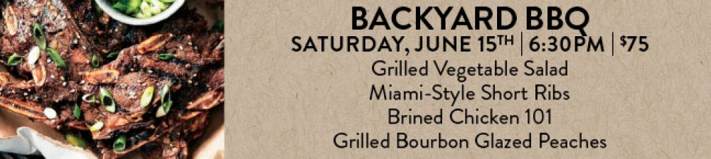 Backyard BBQ - SOLD OUT